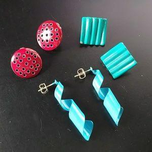 🔥5/$15 vintage earrings bundle